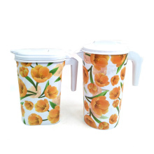Plastic Film Label Flower Patterns for Jars In Mold Label for Plastic Cup