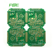 China pcb pcba red blue printed circuit board