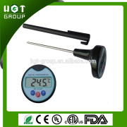 Free sample available foldable instant read thermometer smoker