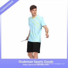 2017 Custom Sublimation Badminton Wear / Runing Uniforms