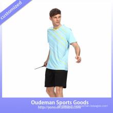 Desgaste feito sob encomenda do Badminton da sublimação 2017 / uniformes running