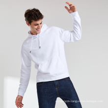 New Arrival Pullover Oversized French Terry Stretchable Cropped Men's Hoodies