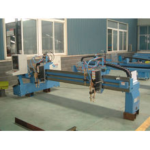 Gsd Series Gantry Table Pipe Cnc Cutting Machine , Cnc Flame Cutter With Double Servo Driver