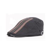 Brush Cotton Twill Strip Applique Adult Casquette Hat