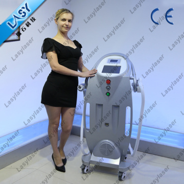 e-Light Ipl rf Nd yag Laser Multifunktions-Maschine