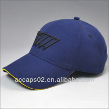 Logo de broderie surélevé logo baseball cap