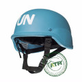 UN Peace-keeping Bullistic Blue Protective  Helmet Bullet Proof Helmet