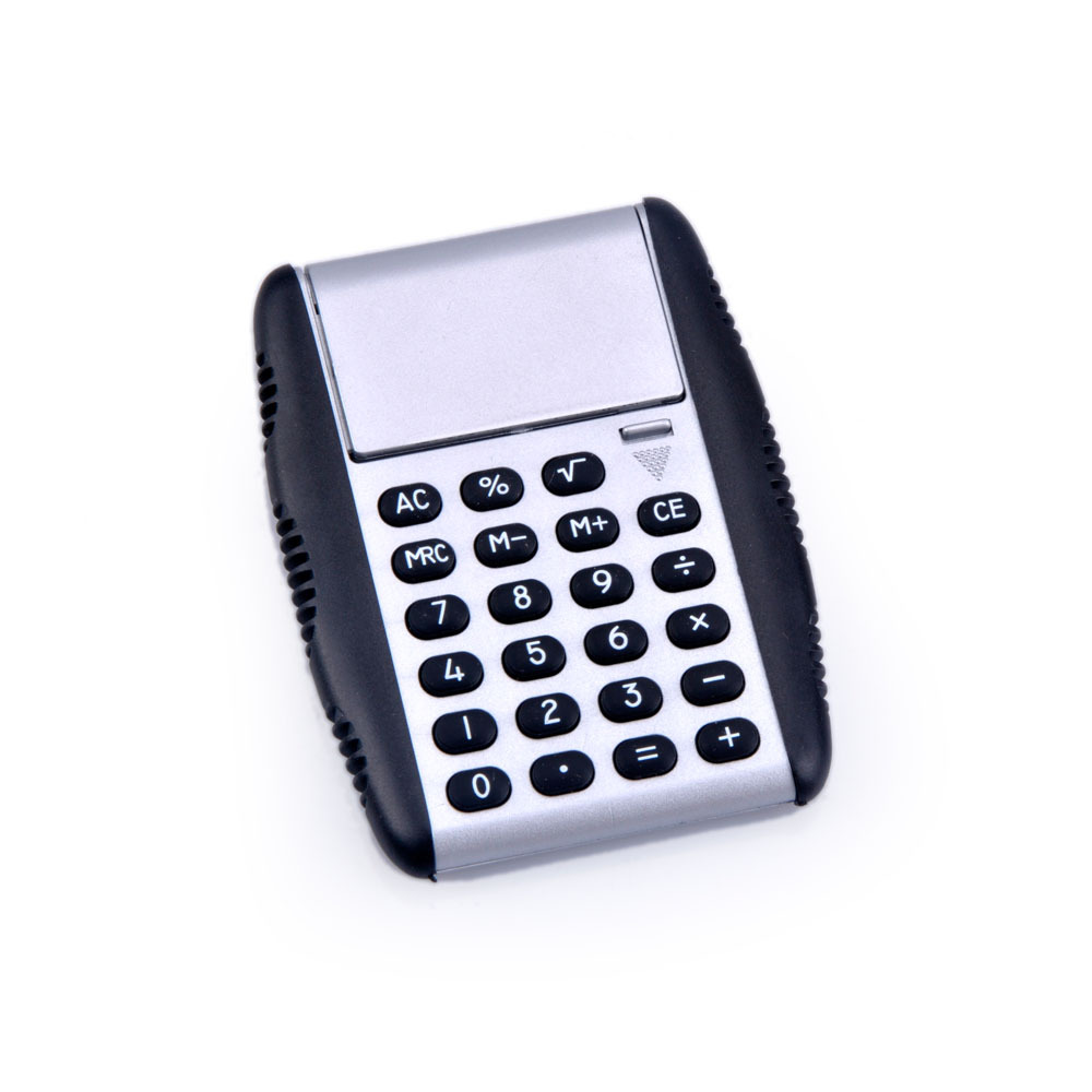 8 Digits Mini Foldable Pocket Calculator for Flip Cover
