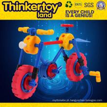 Brinquedo de blocos de construção pequenos para crianças