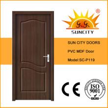 Sun City PVC interne MDF Tür (SC-P119)