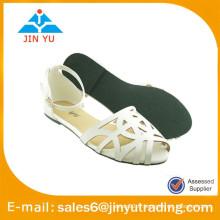 Chaussures de sandales sexy femme 2015 blanc