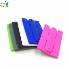 Wonderful Color Silicone Credit Card Holder for Phone