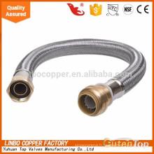 LBA40 galvanisé en acier inoxydable flexible / hydraulique flexible tuyau / toilette tuyau flexible galvanisé en acier inoxydable flexible / hydraulique tuyau flexible / toilette tuyau flexible