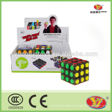 YongJun Linggan Cubo de velocidad 3x3 Cubo mágico de plástico de 57 mm