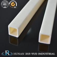 Tubo / tubulação cerâmicos da alumina da resistência de abrasão para o central eléctrica térmico