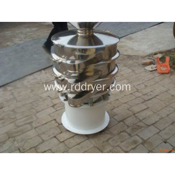 High Frequency Circular Vibratory Screener