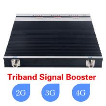 2g / 3G / 4G 900MHz / 2100MHz / 2600MHz Tri-banda de señal móvil de refuerzo / repetidor