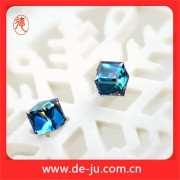 Magnetic Charm Fashion Crystal Earring Stud
