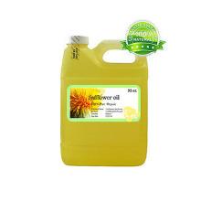Suministro de aceite de cártamo 100% puro comestible de alta calidad