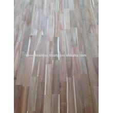 Finger Joint Board, Panneaux lattés en bois fabriqués par Acacia de haute qualité