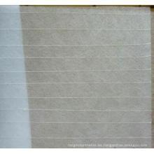 Tejido para tejados reforzados de fibra de vidrio