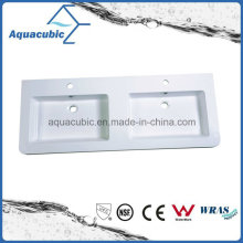 High Quality Top Selling Clean Bathroom Wash Basin Sink Polymarble Basin