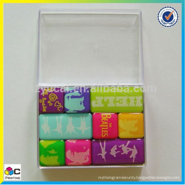 popular latest new model Resin fridge sticker