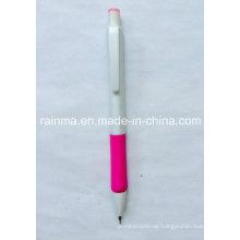 Kunststoff-Bleistift mit weißem Fass
