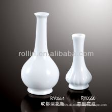 Gesunde, haltbare weiße Porzellanvase
