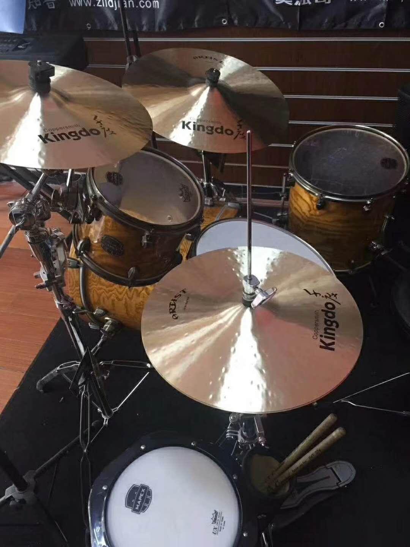 15'' hi-hat cymbals