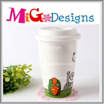 Personalized Crafts Gift Ceramic Lovely Cup for Kids