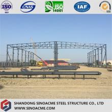 Alta calidad Prefab estructura de acero ligero / marco de acero ligero