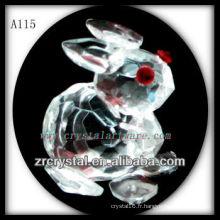 Figurine animale en cristal A115