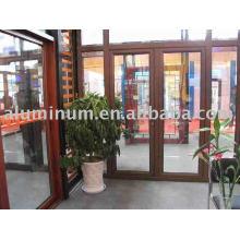 aluminium wood profile