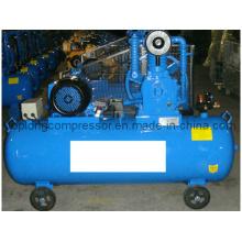 Bomba de compresor de aire para servicio pesado con transmisión por correa de pistón (HD-0.53 / 12.5)