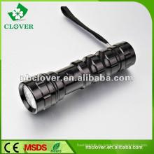 Ein / Aus-Taste Schalter 14 führte Aluminium Mini High Power LED-Taschenlampe