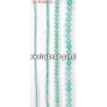 DIY gemstone bead with dyed color sales promotion