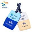 Billiger Preis-kundenspezifisches Logo-Weich-PVC-Reise-Identifikations-Name Netter Entwurfs-Gepäck-Umbau