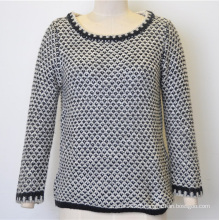 Customized Women Warm Pullover Knit Sweater