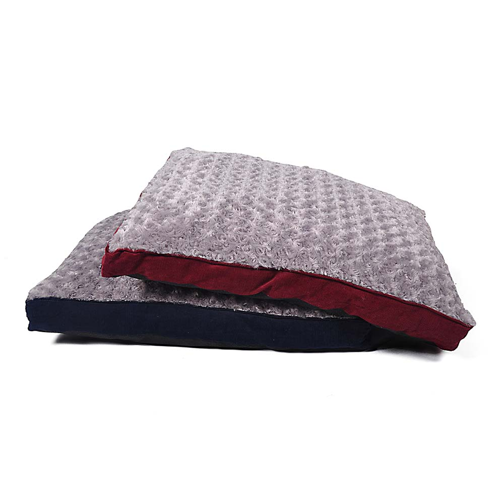 Rectangle Pet Bed Corduroy S