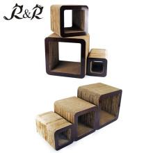 Nouveau canapé moderne design ondulé en carton chat scratcher lounge CT-4026