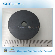 Manufacture Customized Powerful Permanent Ferrite Ring Magnet for Motor