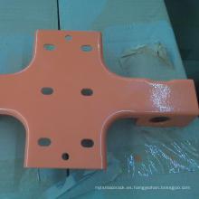 Unidad de estantería de almacén de acero en el sistema de estantería de paletización