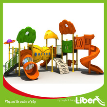 Kids outdoor play equipment for disabled kids structure LE-FF001