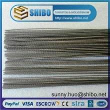 Pureza de fornecimento de alta qualidade 99,95% fio de tungstênio / filamento / parafuso