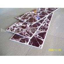Panel de pared decorativo de PVC de transferencia de calor negro