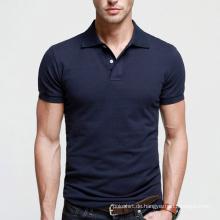 Beste Qualität Marineblau Männer Plain Polo Shirt zum Verkauf