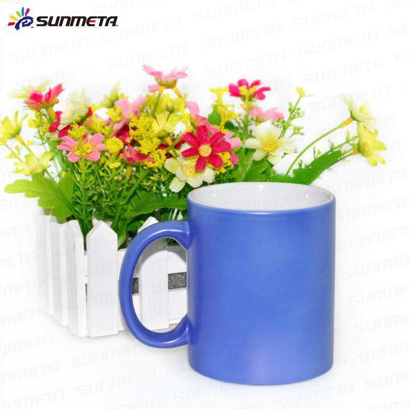 High Quality sublimation color changing magic mug cup