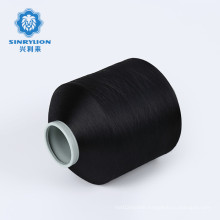 Recycled Plastic Thread PES pet Fdy Recycle Cones 100d36f Polyester Global Standard Eco Yarn
