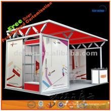 stand de exhibición de aluminio stand stand para promoción y alquiler de ferias